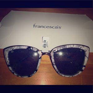 FRANCESCAS GRANITE SUNGLASSES **BRAND NEW**